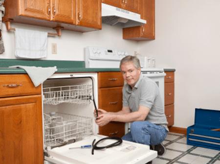 Монтаж посудомоечной машины