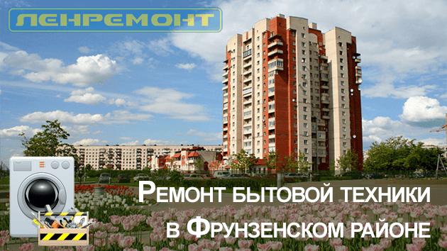 Ремонт бытовой техники в Фрунзенском районе