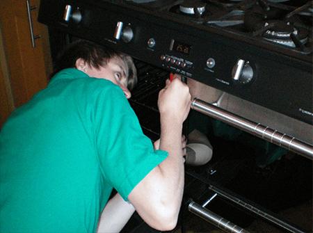 Ремонт духовки газовых плит на дому в СПб