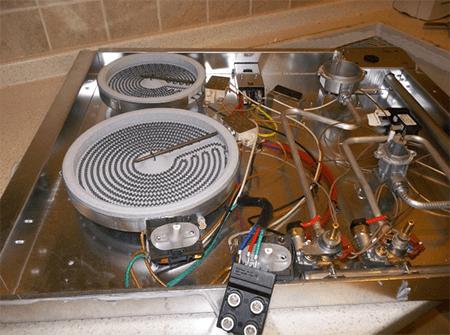плита электрическая аристон разборка мужем Анатолием