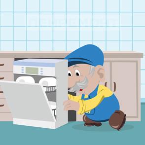 Подключение и установка посудомоечных машин в СПб