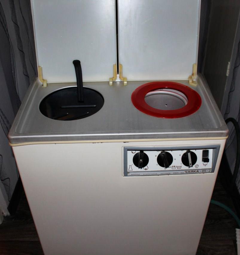 Ремонт стиральных машин Чайка в СПб