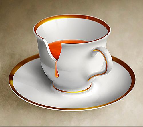 Новая жизнь разбитой чашки