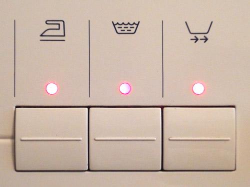 Не работает кнопка на стиральной машине