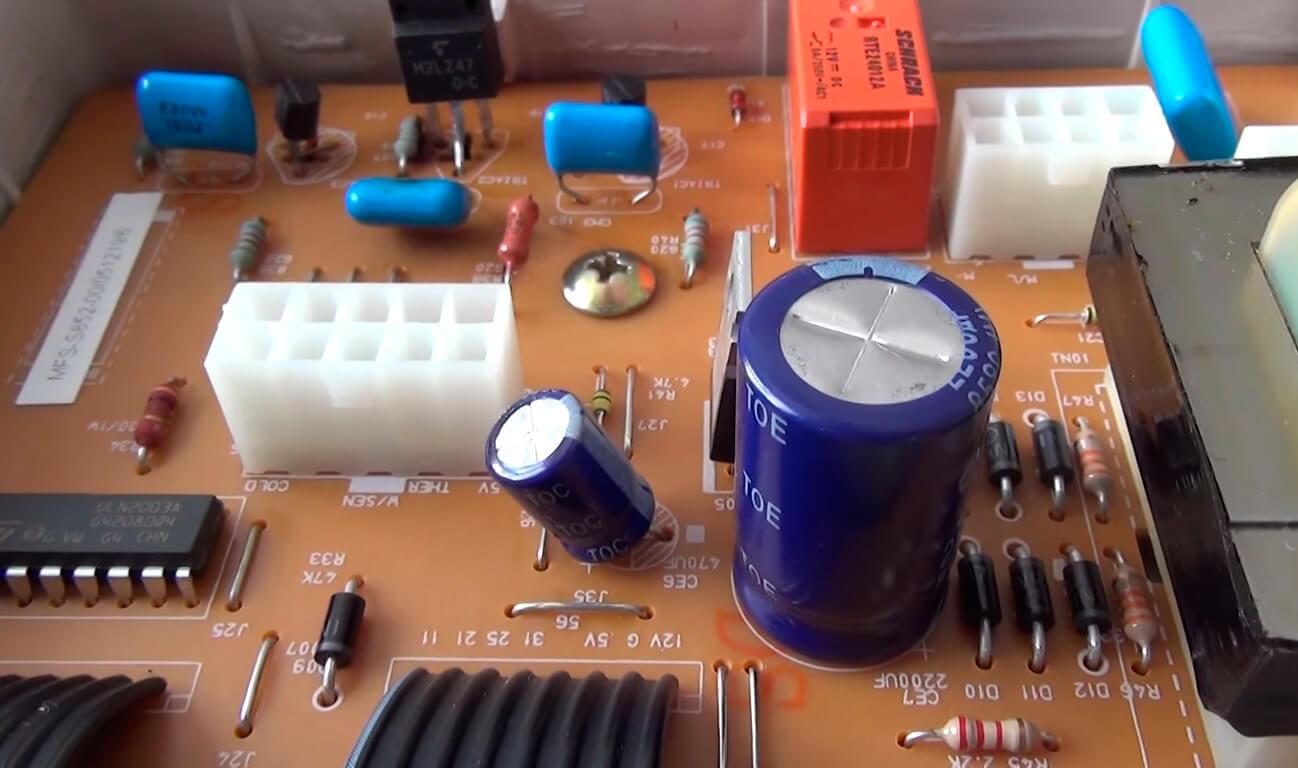 Ремонт электроники стиральных машин в СПб