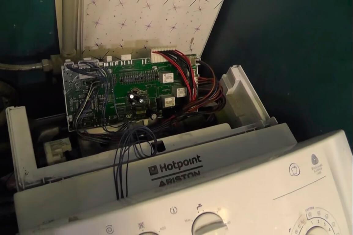 Сгорел симистор в стиральной машине