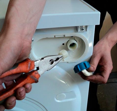 Заменить патрубок стиральной машины в СПб