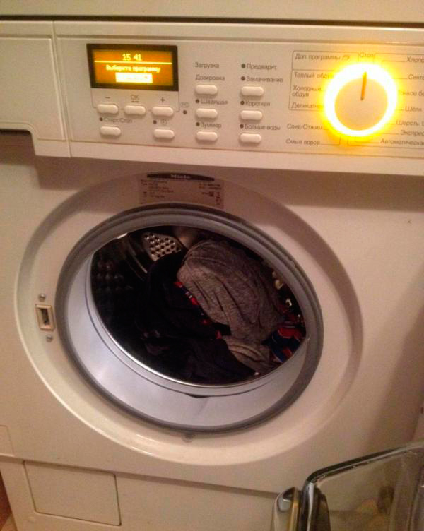 Ошибка Waterproof в стиральной машине
