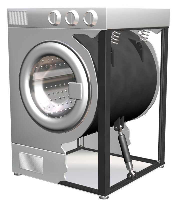 Ремонт демпфера стиральной машины в СПб