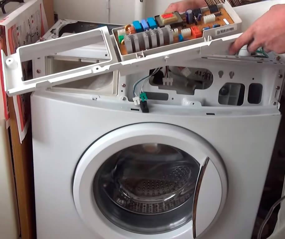 Ремонт панели управления стиральной машины в СПб