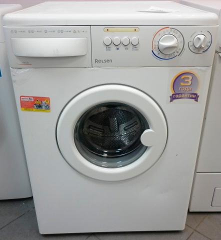 Ремонт стиральных машин Rolsen в СПб