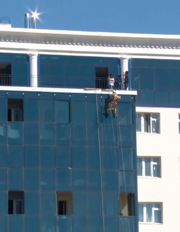 Услуги высотного промышленного альпинизма в СПб