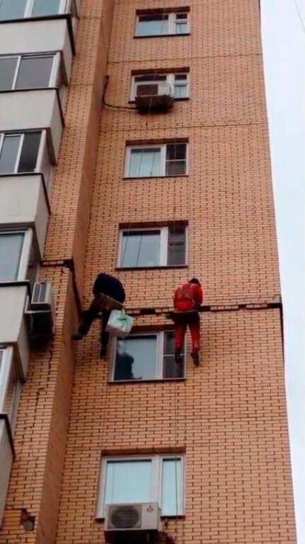 Диагностика зданий промышленными альпинистами в СПб