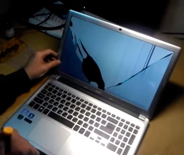 Замена экрана ноутбука Acer в СПб