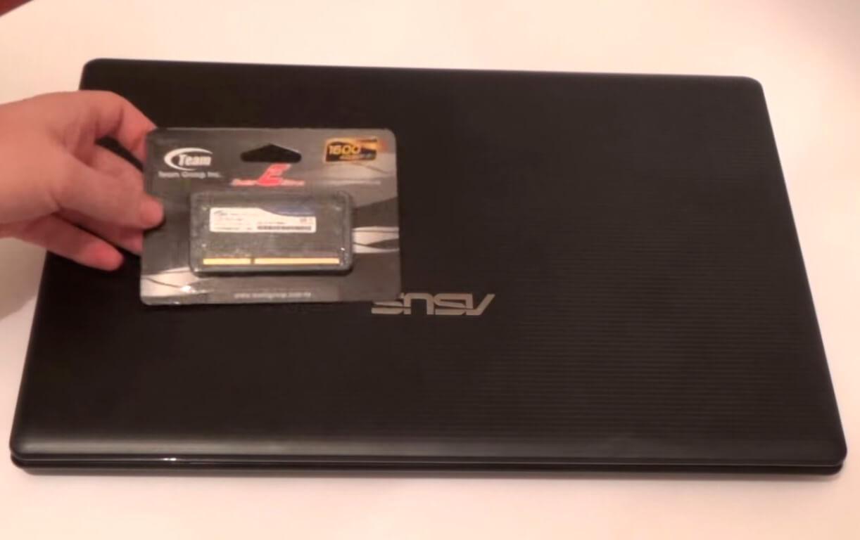 Замена памяти на ноутбуке Asus в СПб