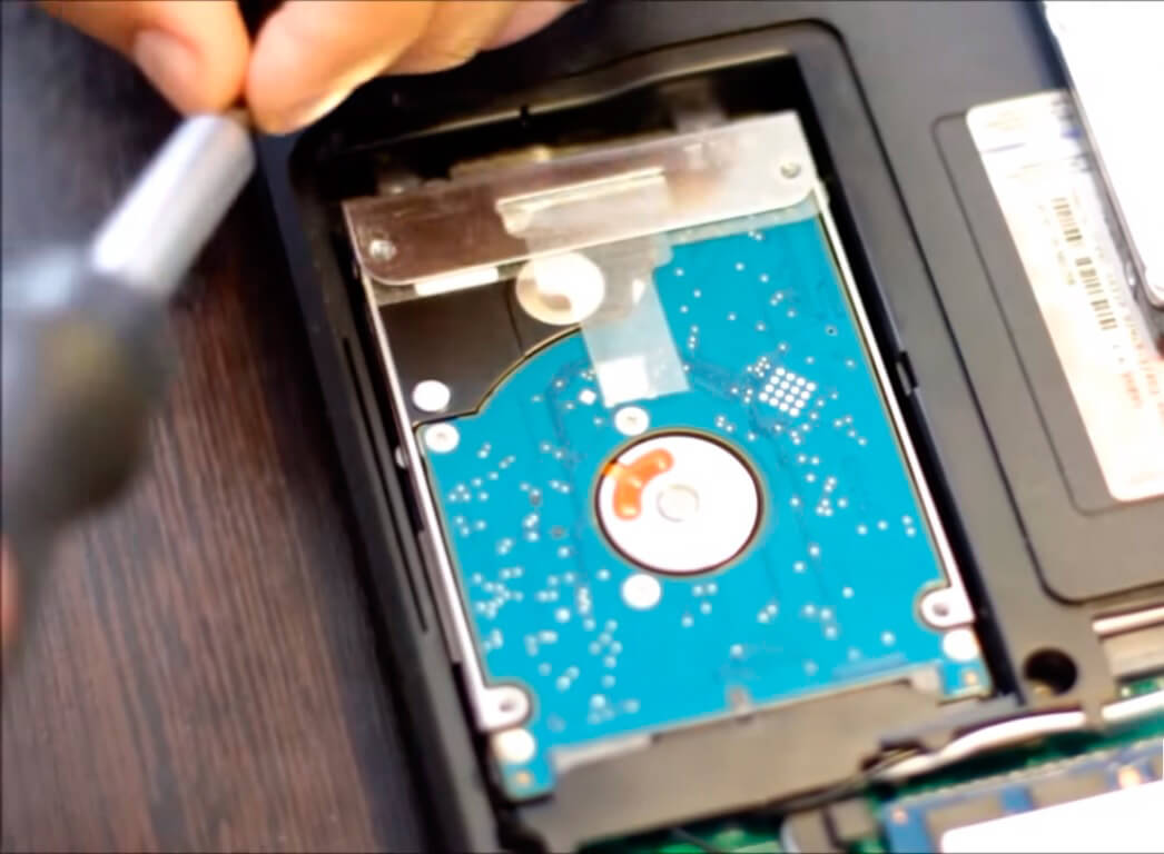 Замена жесткого диска ноутбука Acer в СПб