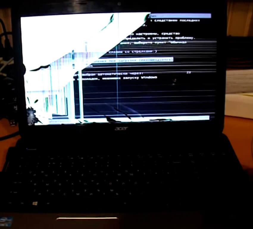 Замена матрицы ноутбука Acer в СПб