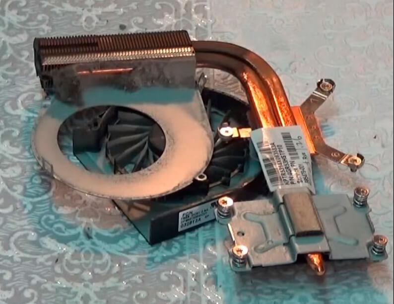 Чистка ноутбука HP от пыли в СПб