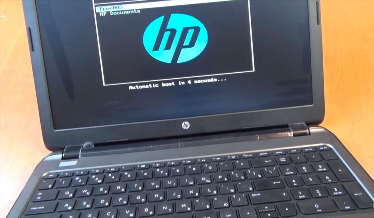Установить Windows на ноутбук HP в СПб