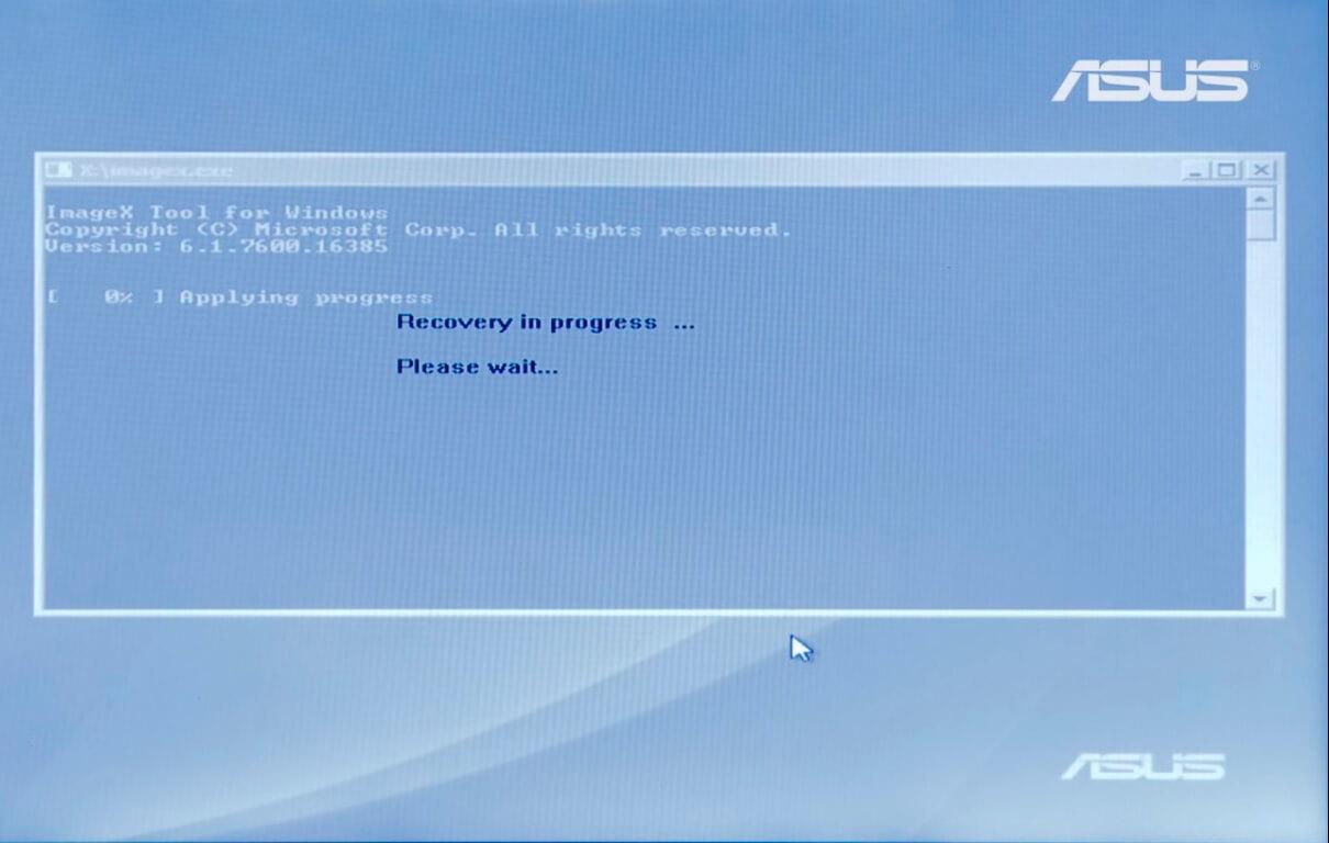 Восстановление ноутбука Asus в СПб