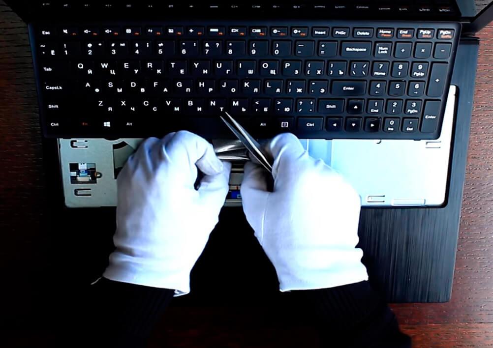 Замена клавиатуры на ноутбуке Lenovo в СПб