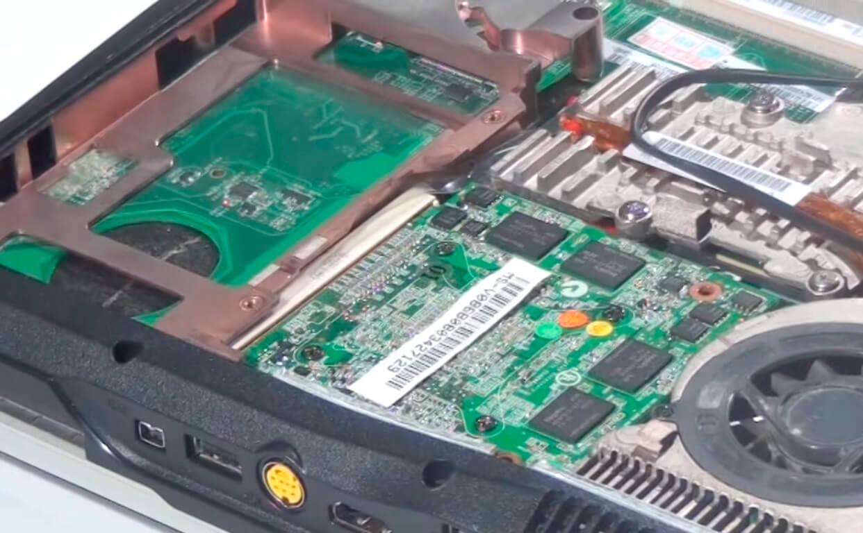 Замена видеокарты на ноутбуке Acer в СПб