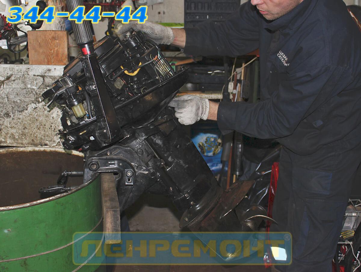 Ремонт подвесных лодочных моторов в СПБ