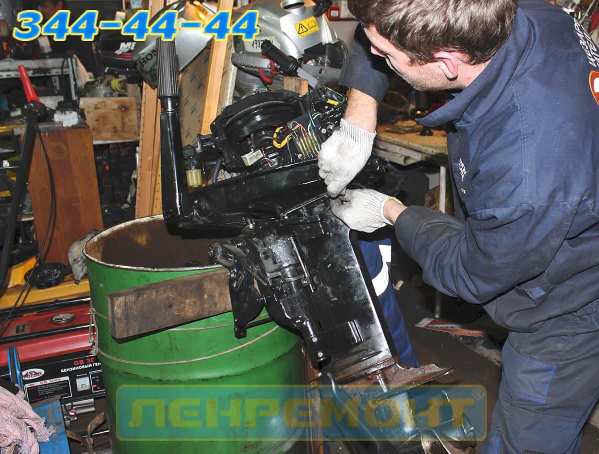 Ремонт лодочного мотора Yamaha в СПБ