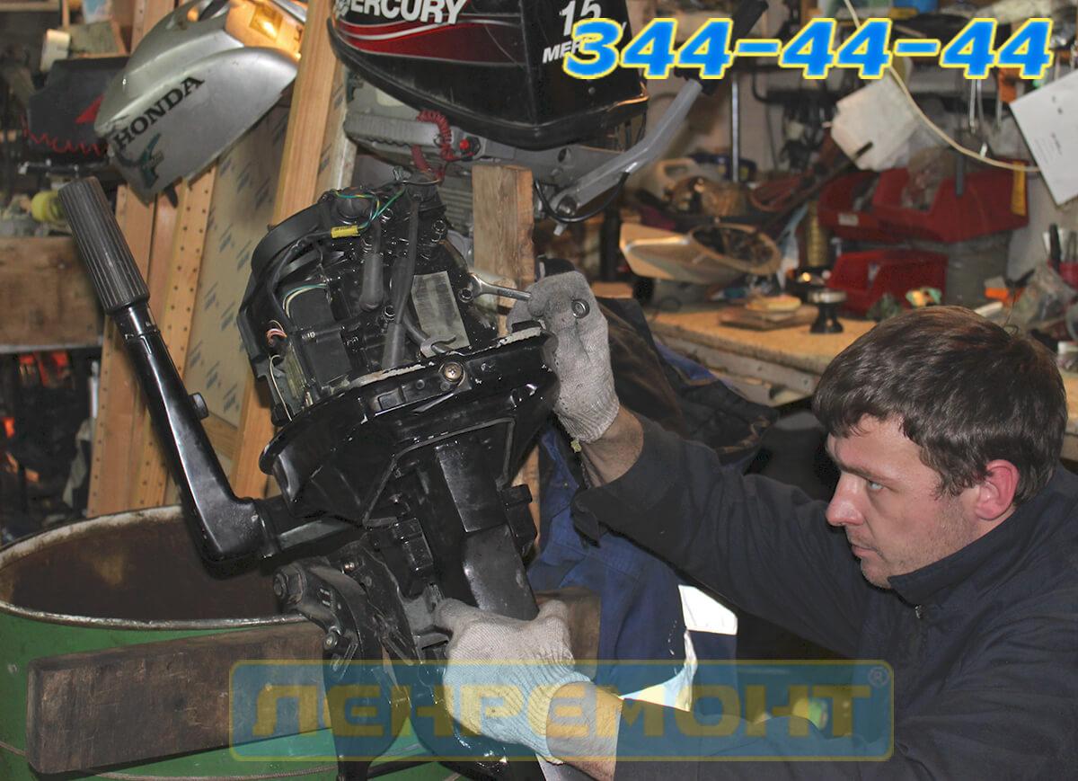 Ремонт лодочных моторов Suzuki в СПБ