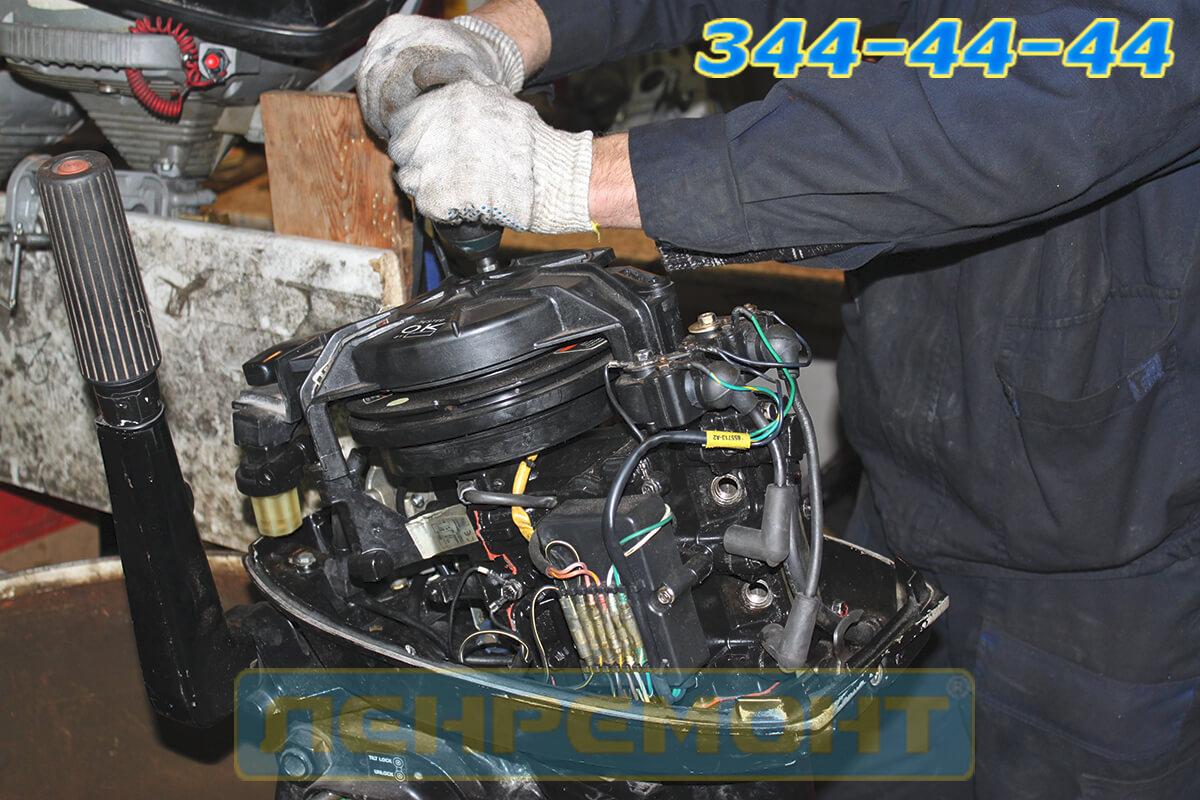 Ремонт лодочного мотора Honda в СПБ