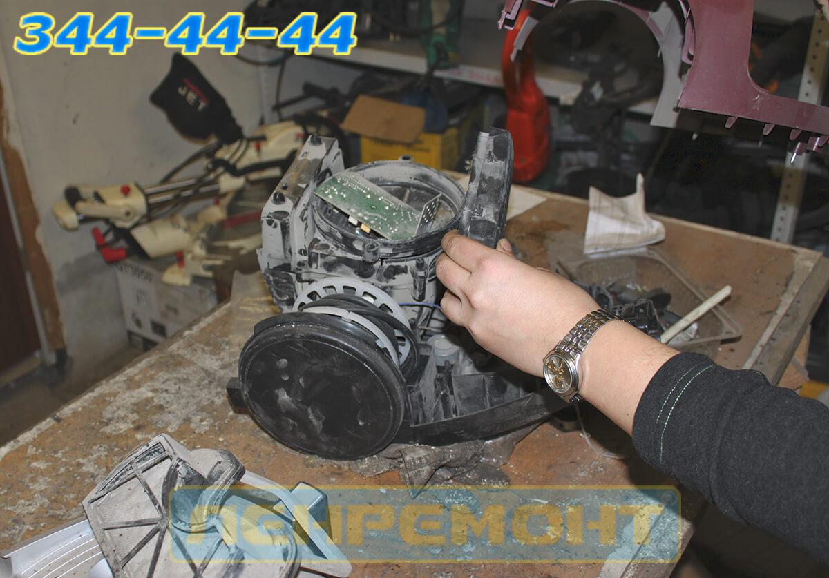 Ремонт двигателя пылесоса в СПБ