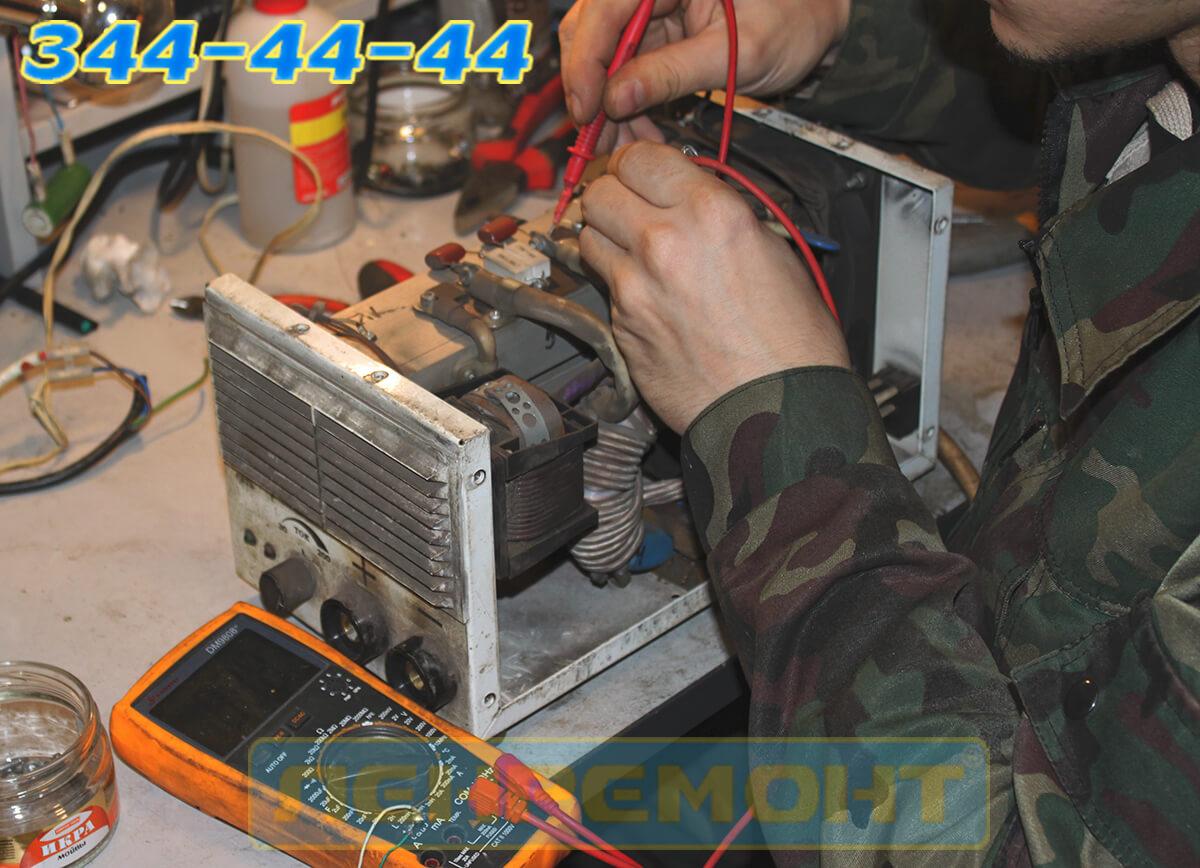 Ремонт сварочного аппарата Telwin в СПБ