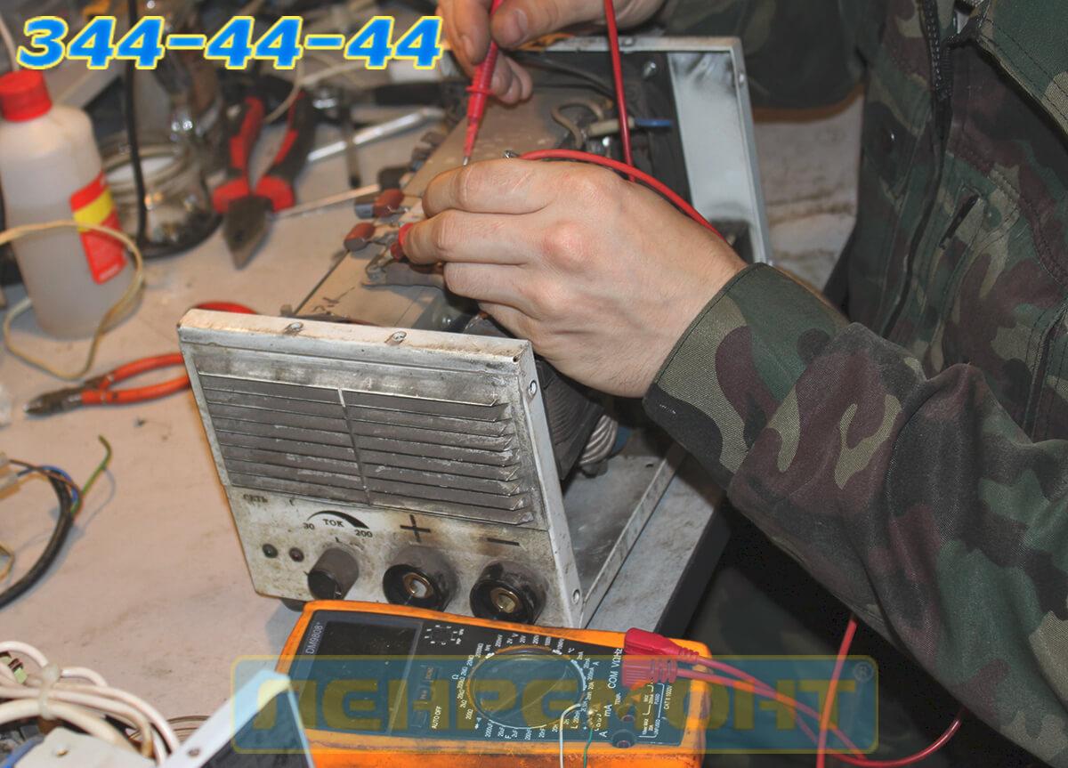 Ремонт сварочного аппарата Сварог в СПБ и Москве