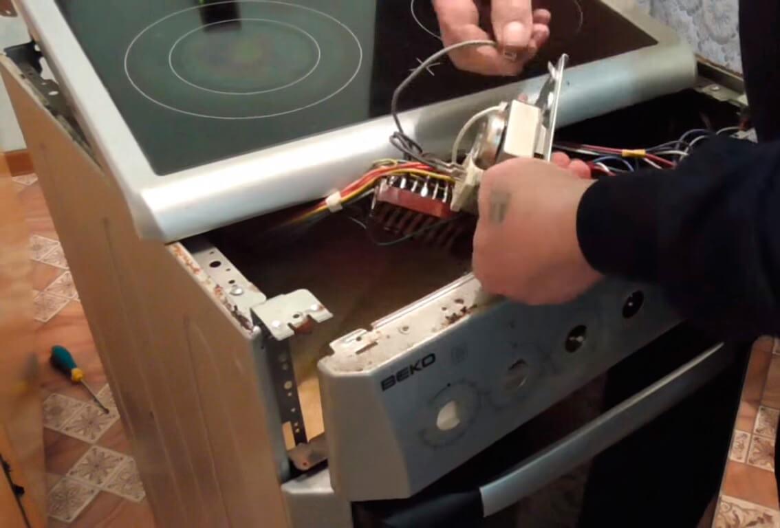 для ремонт электроплит на дому следует подать