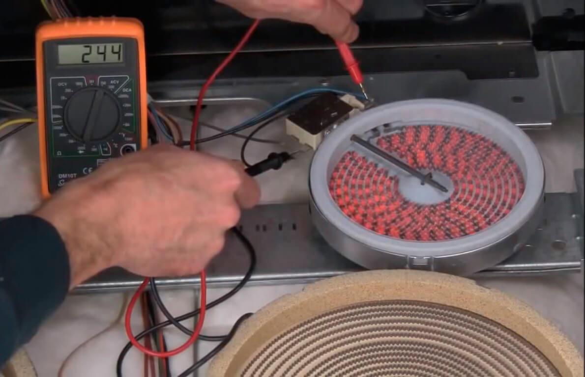 Ремонт электрической варочной панели zanussi своими руками