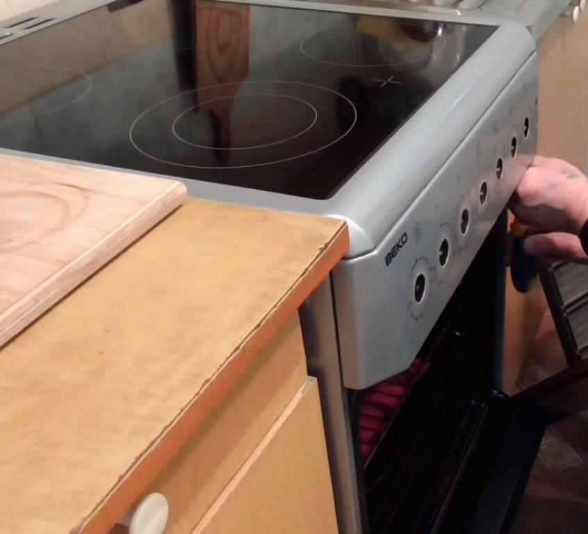 Ремонт встроенных плит