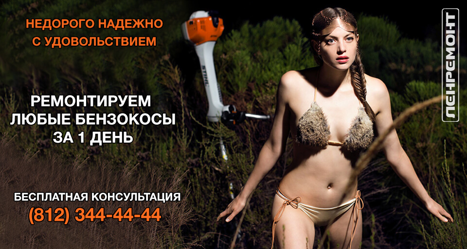 Ремонт бензокос в Санкт-Петербурге