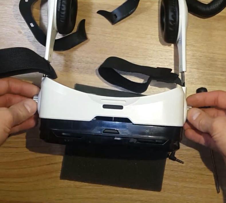 Ремонт очков виртуальной реальности
