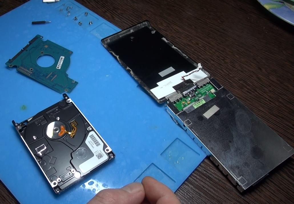 Цены на ремонт жёстких дисков