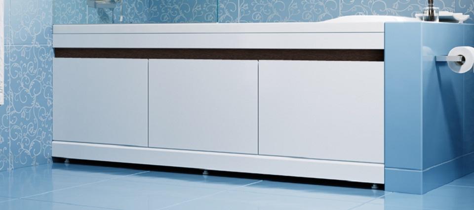 Установка раздвижного или цельного экрана под ванну