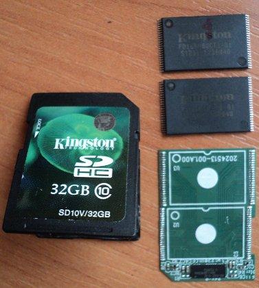 Восстановление данных с карты памяти