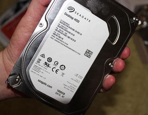 Восстановление данных с диска Seagate