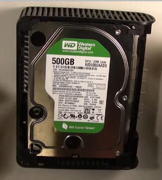 Восстановление данных с диска WD
