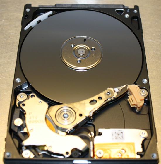 Восстановление переносного жёсткого диска