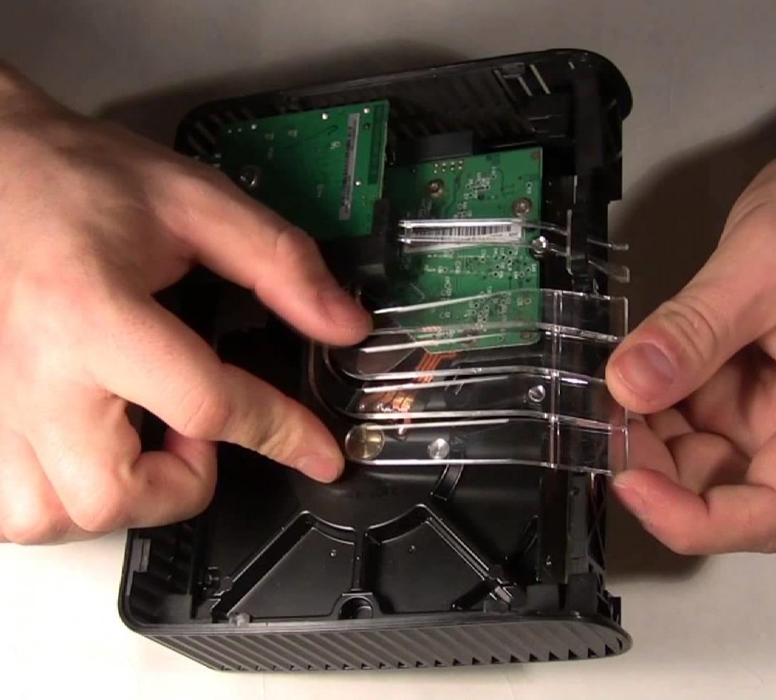 Восстановление данных с внешнего диска