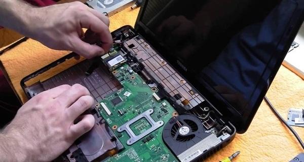 Замена видеокарты ноутбука