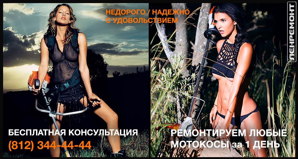 Ремонт бензокос в СПб