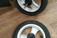 Ремонт Галантерея 2 колеса от коляски ..