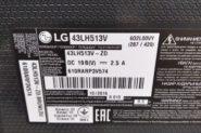 Ремонт Телевизор плазменный LG 43LH513V