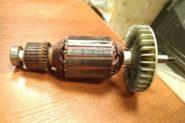 Ремонт Двигатель от мотоблока Ротор от электропилы -
